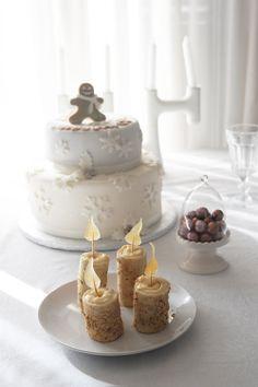 Le candele di frolla cannellosa e Nocciole piemontesi con la cera di Crema e fiammella di zucchero – La Cucina Psicola(va)bile di Iaia & Maghetta Streghetta