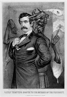 John Wilkes Booth & Satan.