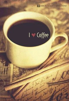 We are coffee drinkers. We like tea too, but it doesn't beat a hot cup of joe. Coffee Heart, Coffee Talk, Coffee Is Life, I Love Coffee, Black Coffee, Coffee Break, My Coffee, Coffee Drinks, Morning Coffee