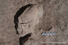 """When archaeologists excavated the ancient burial site """"El Cementerio,"""" near the Mexican village of Onavas, they made a shocking discovery. They unearthed 25 skulls, 13 of which were elonga"""