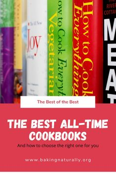 For Mother's Day, Father's Day, International Home Cooking Day and Christmas – these cookbooks are (or soon will be) classics for the home cook and baker. Yes, you really can learn to cook well by following in the footsteps of the masters. Check them out!