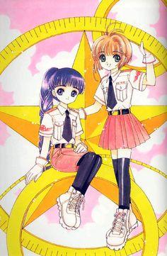 CLAMP - Card Captor Sakura 【Tomoyo & Sakura】