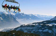 Overview. Eastern Swiss Alps chairlift ©Arnd Wiegmann/Reuters