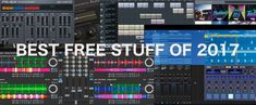 This Week in Free Stuff: The Best Freebies of 2017. Get all the best free virtual instrument and effect plug-ins, DJ software, DAWs, Live Packs, sample packs and more of 2017.