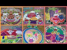 Flower Diy, Diy Flowers, Flower Decorations, Sankranthi Muggulu, Simple Rangoli Designs Images, Special Rangoli, The Creator, January 12, Diy Crafts