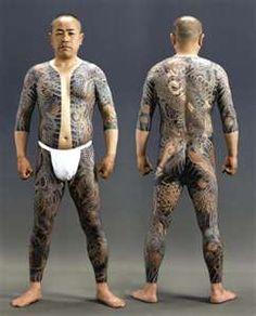 Détail de l'image -Tatouage sur tout le corps