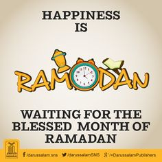 Happiness is waiting for the blessed month of Ramadan. #Ramadan #HappyMuslim 11 DAY!!!