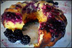 Kolay Yemek Tarifleri: Bogurtlenli Kek