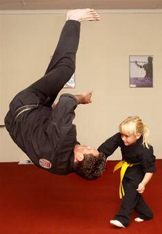 little girl Aikido