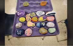 """Those creations are part of a 'Community Service Project called, """"Kindness Rocks,"""" according to the Rougon Elementary School."""