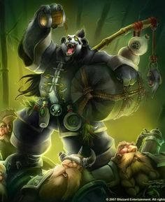 World of Warcraft pandas | Pandaren 01