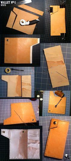 ARTS AND CRAFTSY...: Wallet no. 1