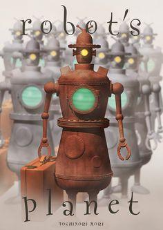 It is a traveler robot