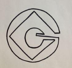 Gru Logo for Minion Costume