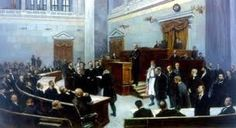 Oil painting of the Greek Parliament, at the end of the century, by N… Daily News, 19th Century, Greece, Wordpress, History, Painting, The Secret, Articles, Oil