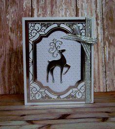 Ann Greenspan's Crafts: Frantic Stamper Large Fancy Deer