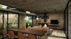 Haras House by Besonias Almeida Arquitectos by Home Adore, via Behance