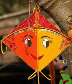 Greet your loved ones on Makar Sankranti and wish them all happiness. Free online Greetings On Makar Sankranti ecards on Makar Sankranti Kite Decoration, Diy Diwali Decorations, Wedding Stage Decorations, School Decorations, Festival Decorations, Backdrop Decorations, Backdrops, Kites Craft, Art For Kids