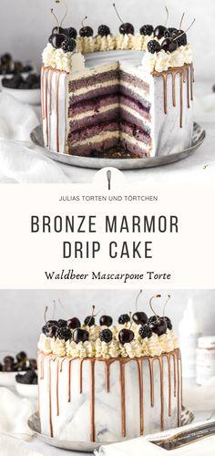 New Kitchen Doors, Torte Recepti, Fondant, Drip Cakes, Morning Food, Cake Art, Tiramisu, Mascarpone Creme, Bakery