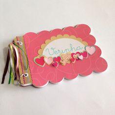 scrap álbum de fotos Dyi Crafts, Scrapbooking, Projects, How To Make, Handmade, Gifts, Gentleness, Ideas, Pictures