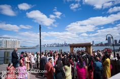 Sindhi & Punjabi Wedding in Jersey City Hyatt, NJ by PhotosMadeEz with Elegant Affairs Inc., SV Bridal Concepts, Sanjana Vaswani,  Moghul Catering, Sweetpea planners. Featured inMaharani Weddings