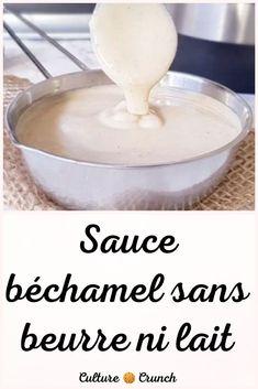 Sauce Béchamel, Marinade Sauce, Filet Mignon Sauce, Mango Mousse Cake, Bechamel Sauce, Mayonnaise, Cooking Tips, Entrees, Dairy Free