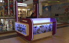 Catálogo - Mov- Arquitectos - Marketing, Publicidad Y Promoción / Publicidad Para Puntos De Venta en El Cercado - Lima - Perú Mall Kiosk, Phone Store, Glasses Shop, Kiosk Design, Workspace Design, Arcade Games, Retail, Concept Stores, Counter
