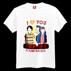 I Love You To The Upside Down And Back T-shirt