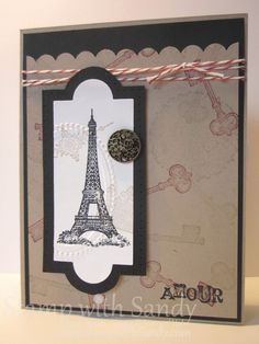 Artistic Etchings, Stampin' Up