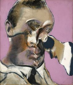FRANCIS BACON 60's: FROM: Three Studies for Portraits (including Self-Portrait), 1969 Medium Oil on canvas Dimensions each 35.5 x 30.5 cm (14 x 12 in.) Collection Private Collection