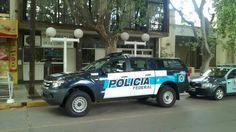 Ford Ranger . Policia Federal Argentina