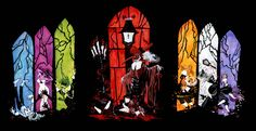 masque of the red death rooms | ... of terror 2011 included the seven deadly as guests at the masque