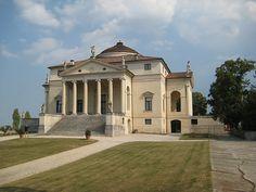 La Rotonda, Vicenza - Andrea Palladio's best known building Andrea Palladio, Architecture Baroque, Classical Architecture, Republic Of Venice, Grand Tour, Luxury Shop, Beautiful Homes, Exterior, Photos