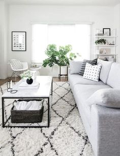 The Scandinavian living room design ideas can deliver a sense of clean and tidy to your house. The design focuses on the calm and clean atmosphere of the room. There are many Scandinavian living room designs you can try to… Continue Reading → Living Room White, Small Living Rooms, Living Room Modern, My Living Room, Living Room Furniture, Living Room Decor, Black And White Living Room Ideas, Scandi Living Room, Cozy Living