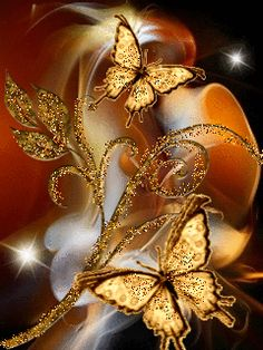The Butterfly beckons us to keep our faith as we go through transitions in our lives ~