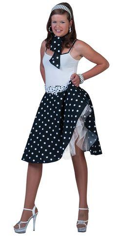 Black Rock nu0027 Roll skirt  sc 1 st  Pinterest & 10 best 1950u0027s Fancy Dress images on Pinterest | Fancy dress ...