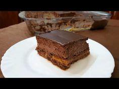 ΓΛΥΚΟ ΜΕ ΣΟΚΟΛΑΤΑ ΚΑΙ ΚΑΡΑΜΕΛΑ!! - YouTube Greek Sweets, Cold Desserts, Greek Recipes, Tiramisu, Caramel, Chocolate, Cake, Ethnic Recipes, Food