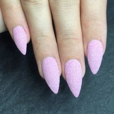 Bling bling  Pictures just never do justice!  Fine glitter cured into the pink from my @getbuffednails collection from @gfa_australia
