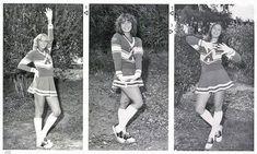 Vintage Cheerleader Pictures from ~ vintage everyday Cheerleading Pictures, Cheerleading Uniforms, Hot Cheerleaders, Cute Skirts, Mini Skirts, Short Skirts, 1980s Pop Culture, Band Uniforms, Cheerleader Costume