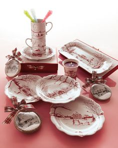 """Country Estate"" Winter Holiday Collection - Neiman Marcus"