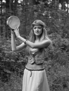 Love the tambourine!