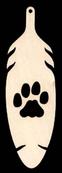 6 pieces Cub Scout Ranks  Bobcat Pawprint in by TexasArtCraft, $8.94