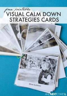 Kids Health Free printable visual calm down strategies for kids with autism or anxiety from And Next Comes L - Free printable visual calm down strategies for kids - perfect for kids with autism or anxiety! Calming Activities, Autism Activities, Autism Resources, Sorting Activities, Coping Skills, Social Skills, Life Skills, Social Work, Social Emotional Development
