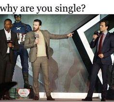 Chris evans, sebastian stan, and funny image Memes Marvel, Avengers Memes, Marvel Funny, Marvel Avengers, Avengers Imagines, Avengers Cast, Bucky Barnes, Sebastian Stan, Stucky