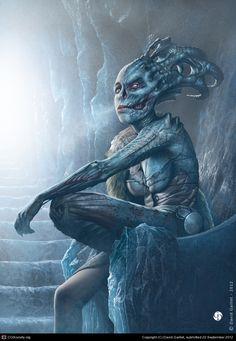 David Gaillet - Norse goddess, Hel