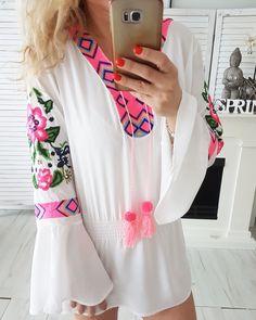 Tunika Eivissa neu im Online-Shop www.vintage-fashion-design.de