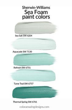 Coastal Paint Colors, Best Paint Colors, Interior Paint Colors, Paint Colors For Home, Aqua Paint Colors, Paint Colors For Office, Wall Painting Colors, Dinning Room Paint Colors, Cabin Paint Colors