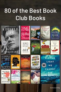 Check out this reading list of some of the best book club books of all time. #books #bookclub #bookclubooks