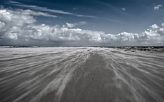 The storm is coming. Schiermonnikoog.