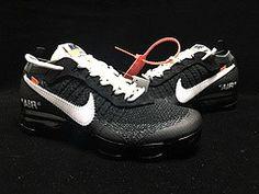 636c4ba52a30a6 Men s Women s Off-White x Nike Air Vapormax FK 2018 Running Shoes Black